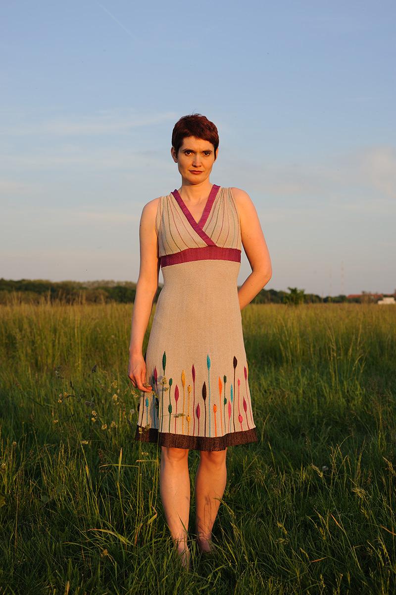 Sommerkleid Strick Manfreda Knitwear